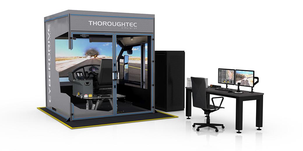 CYBERDRIVE Fixed Facility Simulator Base Unit