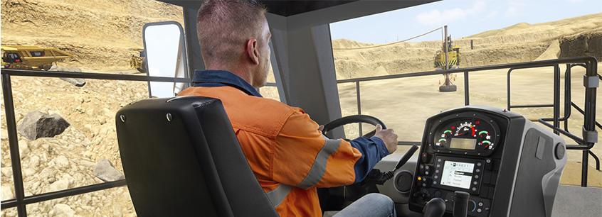 CYBERMINE Cat 793F Haul Truck Simulator