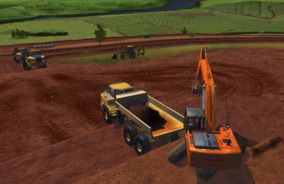 Construction-Excavator-Simulator