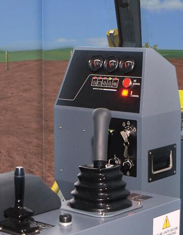Dozer-Simulator-Cab-Detail