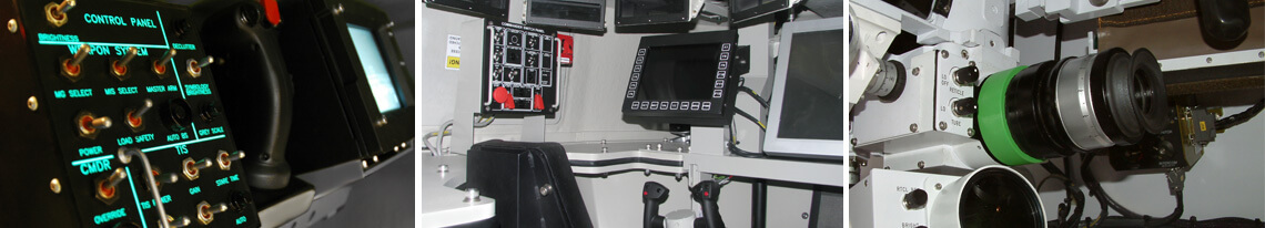 High-fidelity-military-simulators