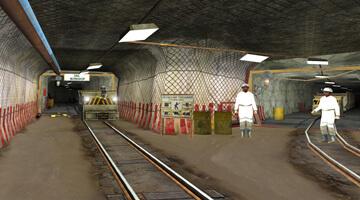 Locomotive-simulator-intersection